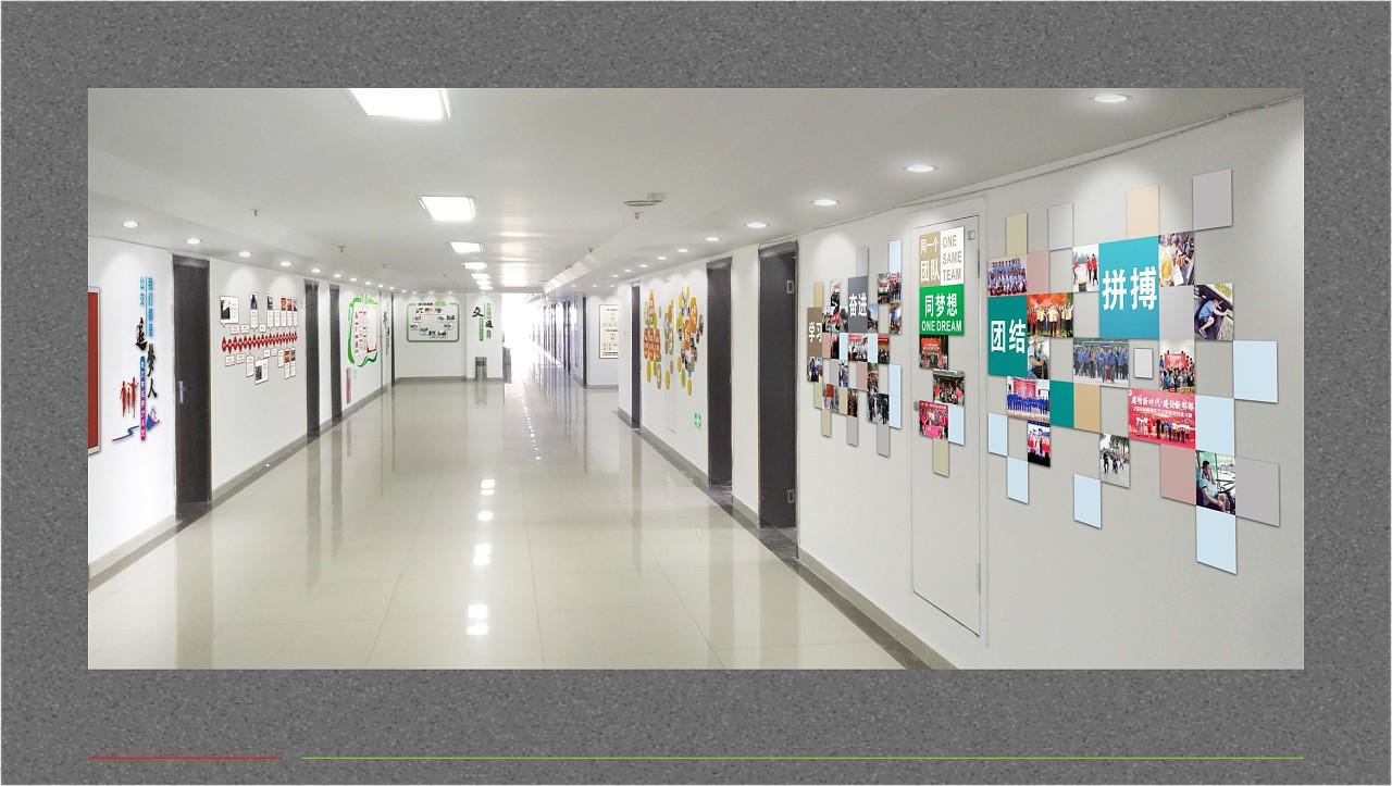 公司宣传栏设计 办公室宣传栏设计 定制企业文化墙的公司图片